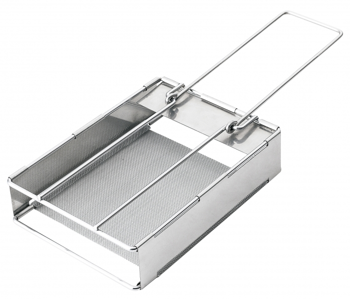 Jumbo Stainless Steel Camping Folding Toaster Camp Cooking